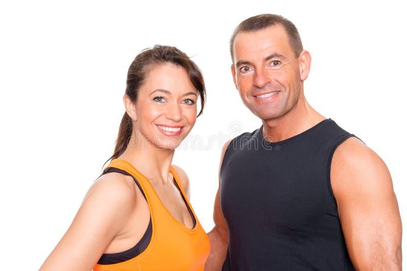 Couples de sport photographie stock libre de droits