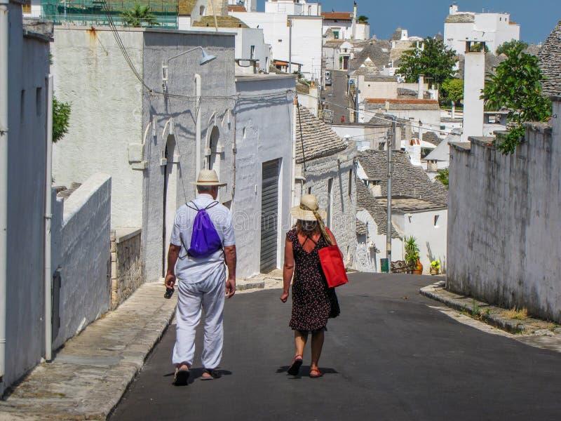 Couples de touristes image libre de droits