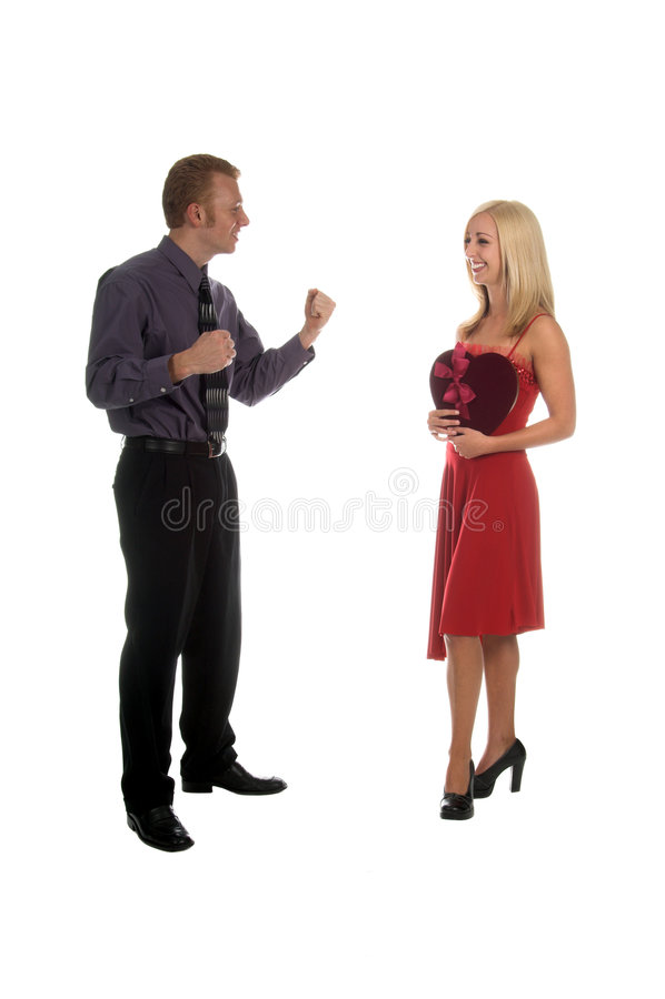 Couples de Valentine photographie stock libre de droits