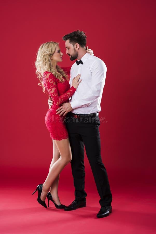 Couples de valentines photo stock