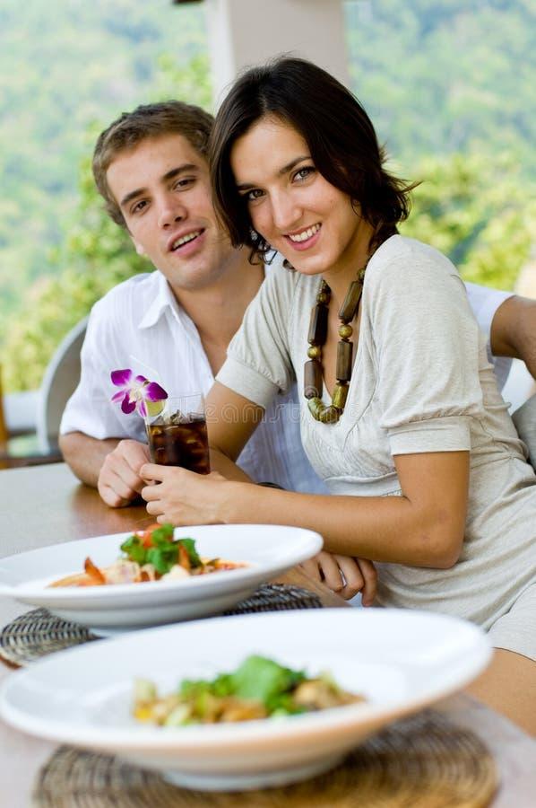 Couples des vacances images libres de droits