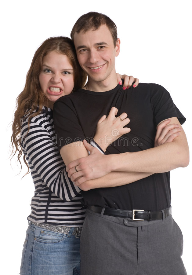 Couples drôles photographie stock libre de droits