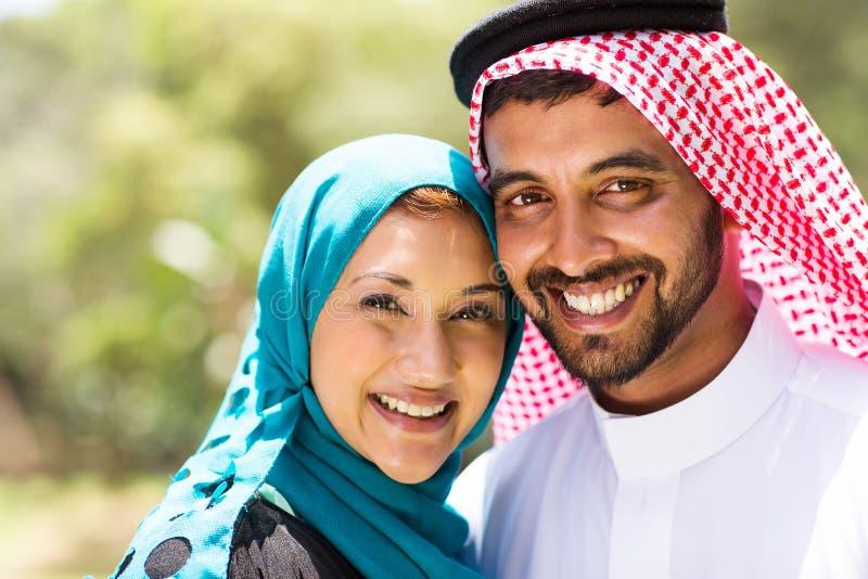 Couples du Moyen-Orient images stock