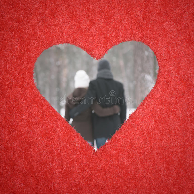 couples embrassant aimer photo stock