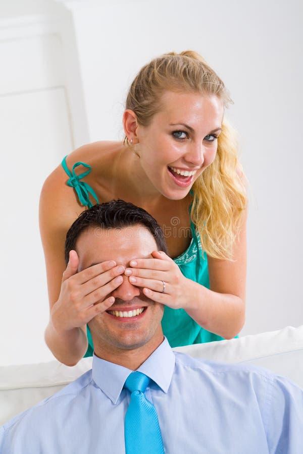 Couples espiègles photographie stock