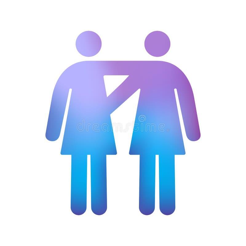 Couples Femelles Homosexuels Photo stock