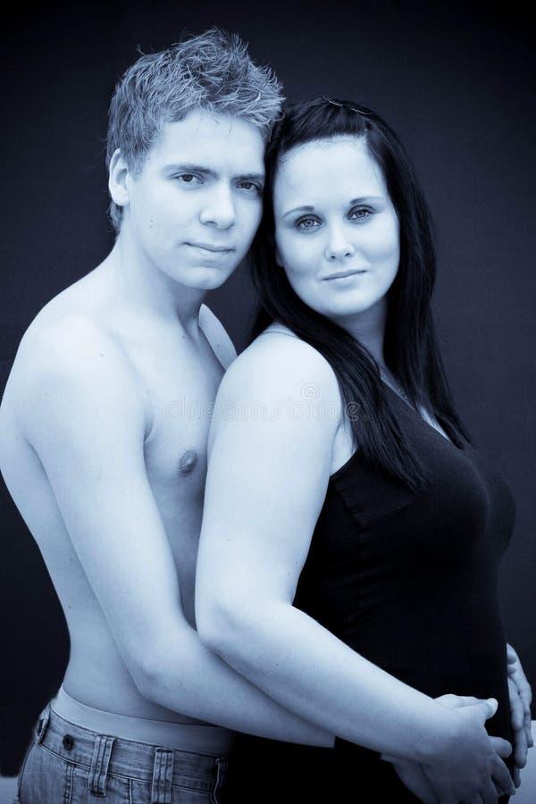 Couples frais photo stock