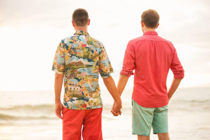 Couples gais heureux photo libre de droits