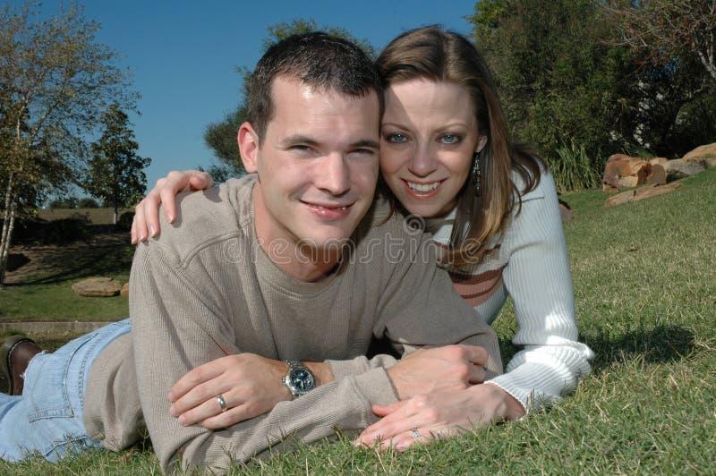 Couples heureux photos libres de droits