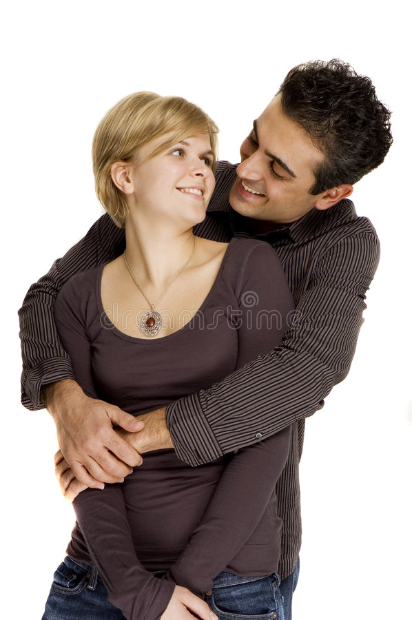 Couples heureux photo libre de droits