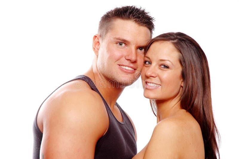 Download Couples heureux photo stock. Image du mâle, famille, valentine - 2127724