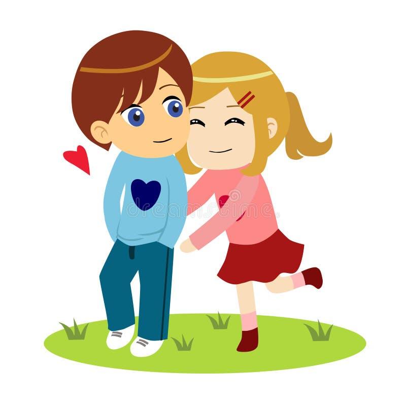 Couples heureux et affectueux images stock