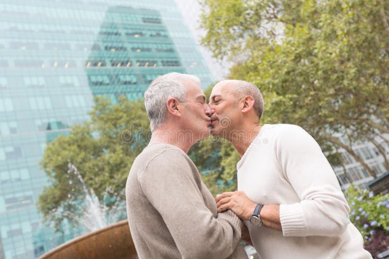 Couples homosexuels photo stock