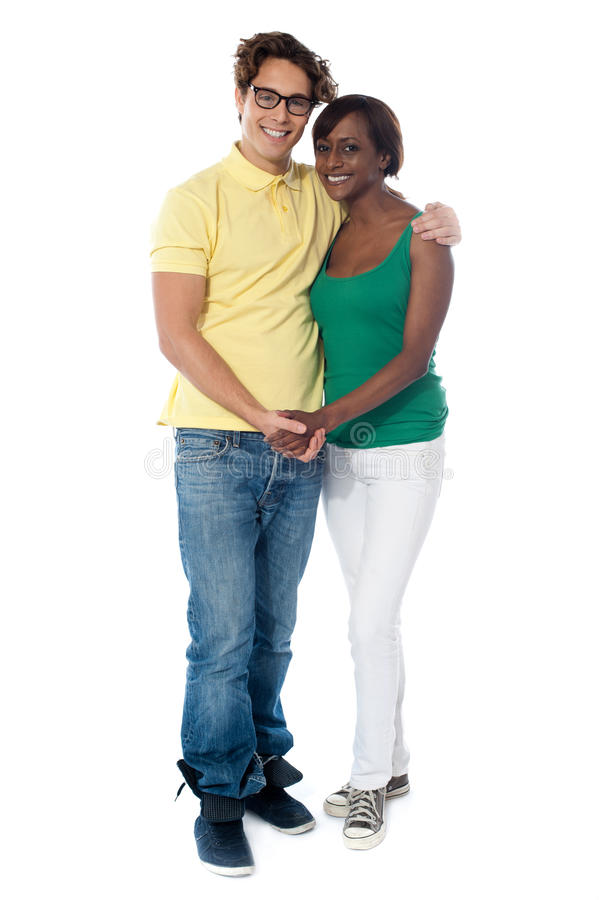 Couples Hugging And Holding Hands Royalty Free Stock Photo