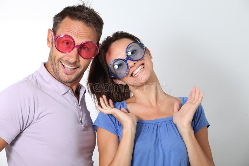 Couples idiots image stock