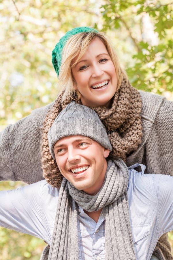 Couples insouciants images libres de droits