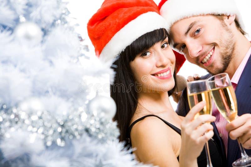 Couples joyeux images libres de droits