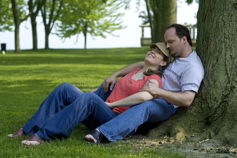 Couples la datte images stock