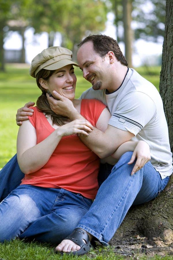 Couples la datte photos stock