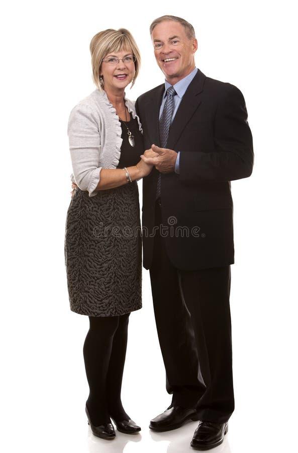Couples mûrs formels image libre de droits