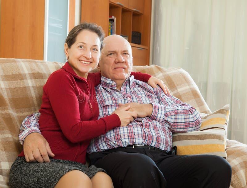 Couples mûrs photos stock