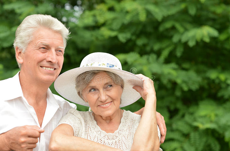 Couples mûrs ensemble photographie stock libre de droits