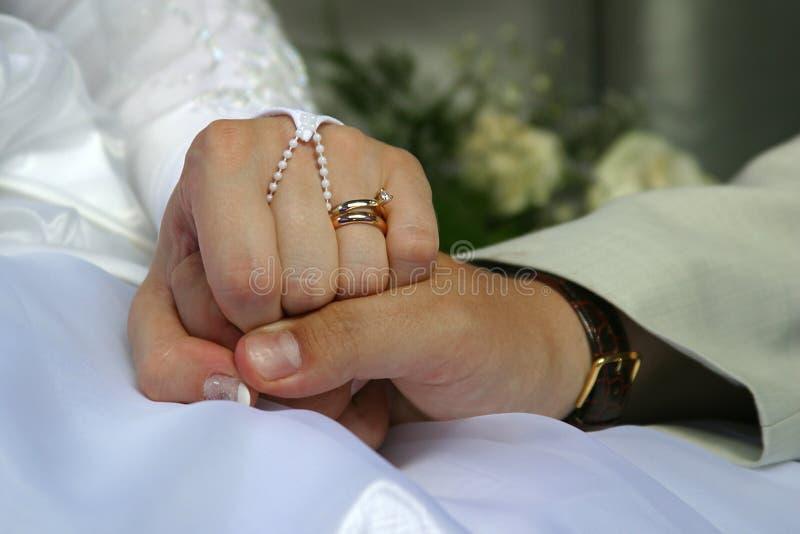 Couples Neuf-mariés Image stock