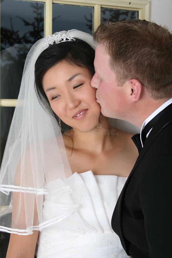 Couples nuptiales photo stock