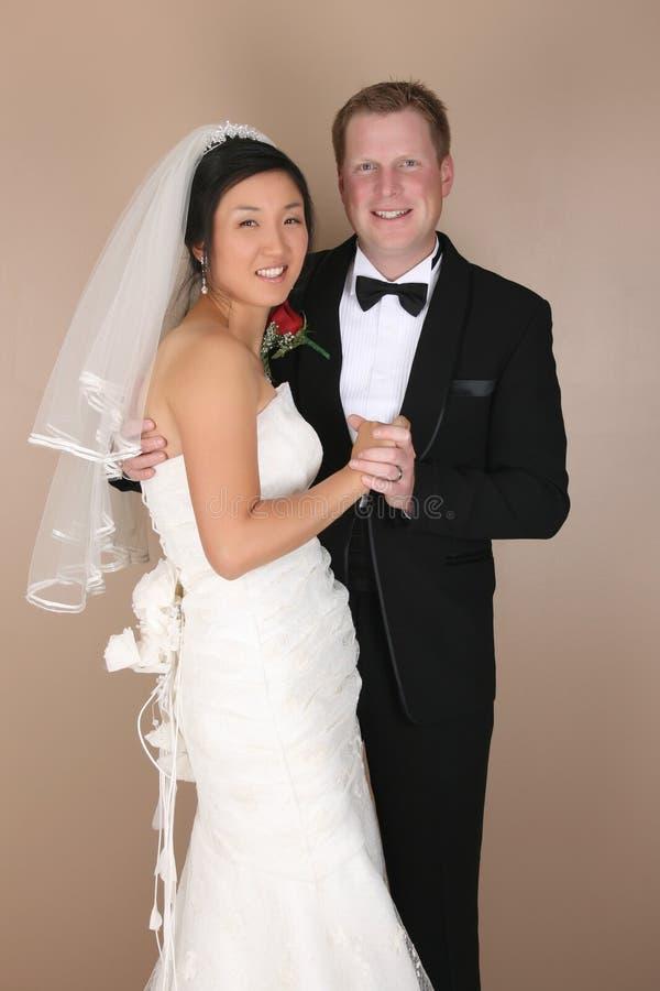 Couples nuptiales photographie stock libre de droits
