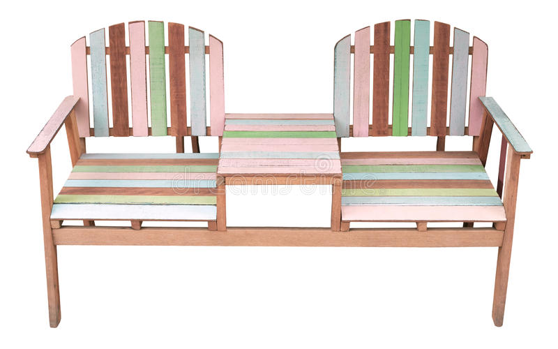 Download Couples Of Old Wood Chairs Isolated White Stock Images - Image: 24722244