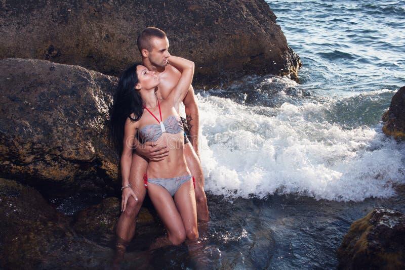 Couples parfaits de corps photo libre de droits