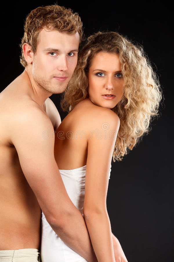 Couples passionnés. photo stock