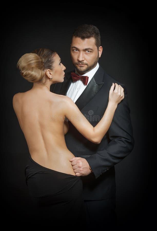 Couples passionnés photos stock