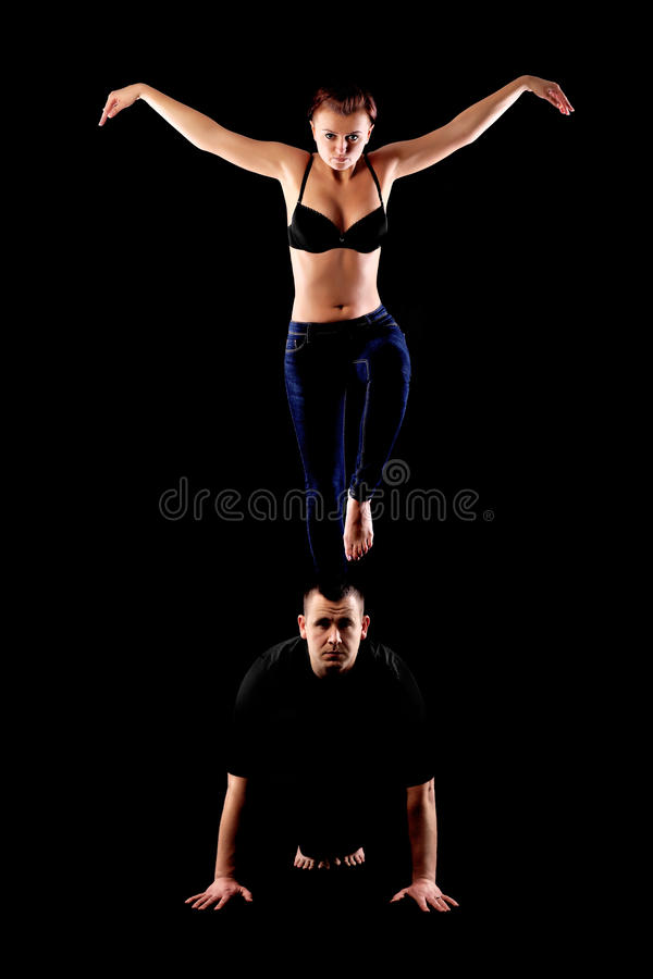 Couples passionnés de danse photographie stock libre de droits