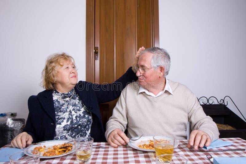 Couples pluss âgé photographie stock