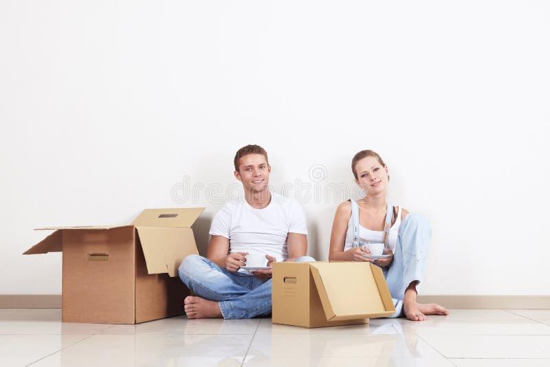 Couples replacés photos stock