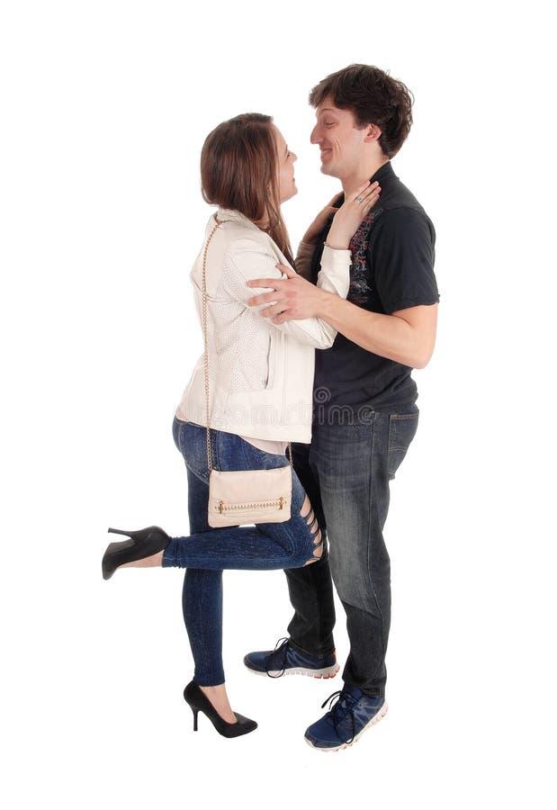 Couples se soulignant photos libres de droits
