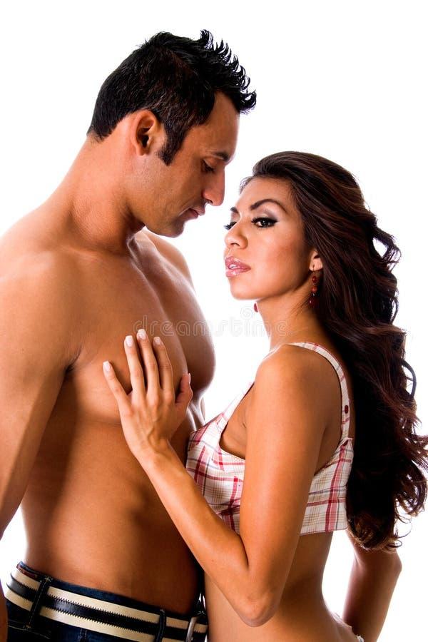 Couples sexy. photo stock