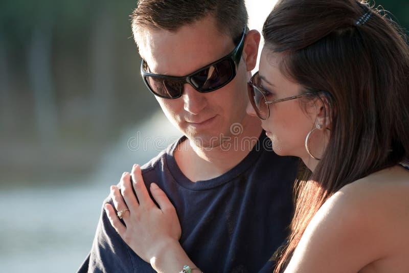 Couples tristes photographie stock libre de droits