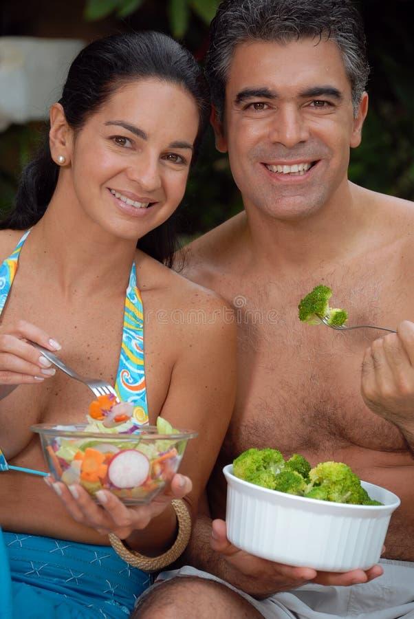 Couples tropicaux. photos libres de droits