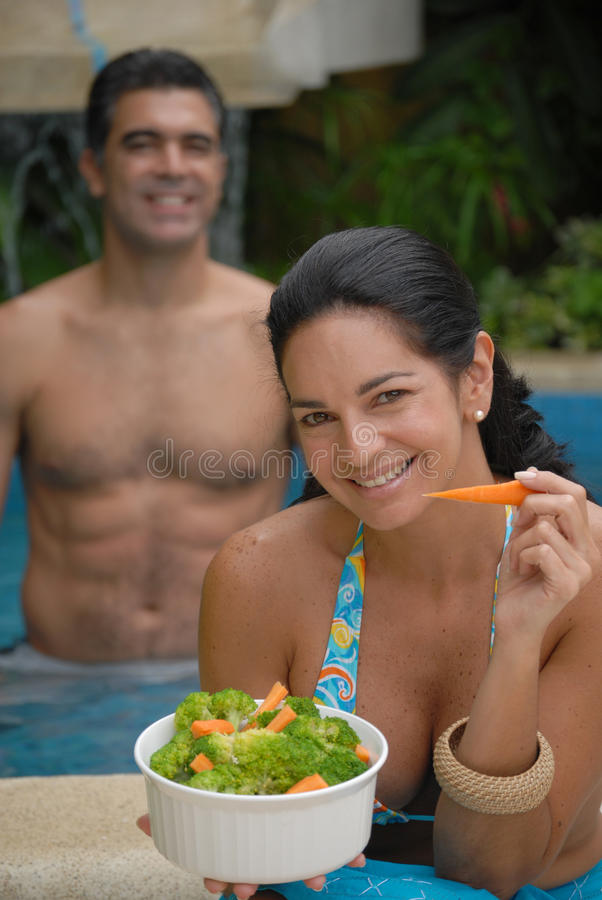 Couples tropicaux. images stock