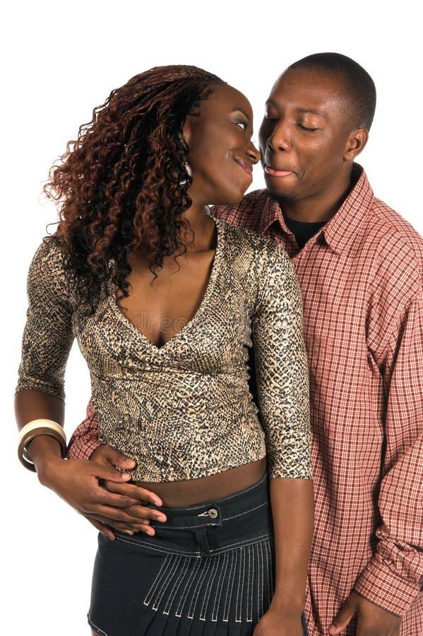 Couples urbains intimes photo libre de droits