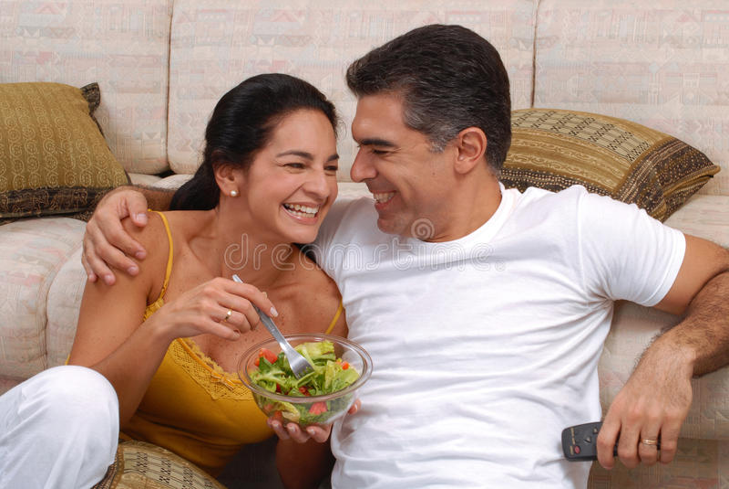 Couples végétaux. photo libre de droits