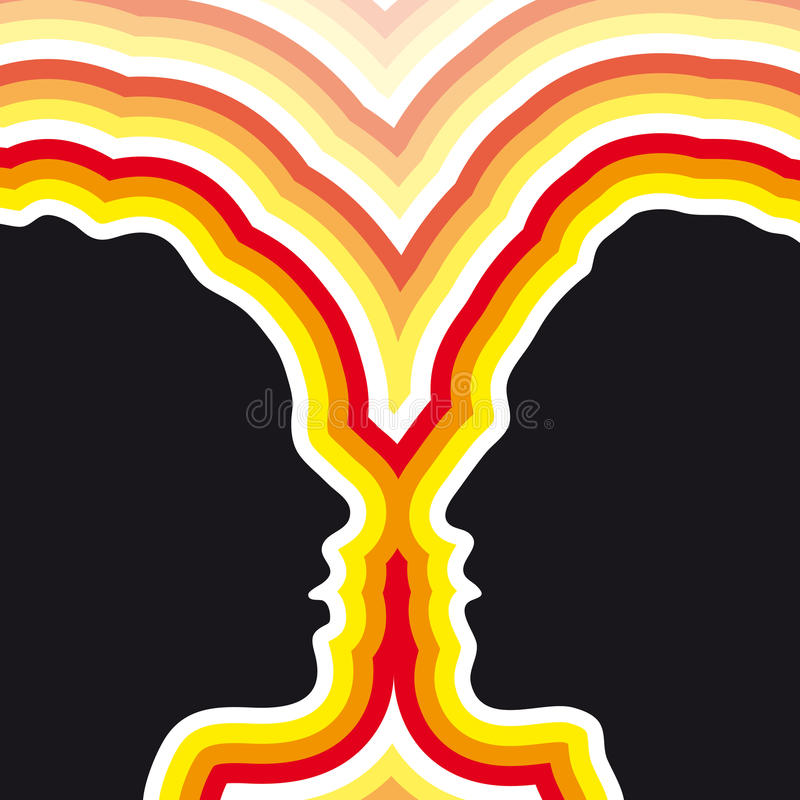 Couples (vecteur) illustration de vecteur