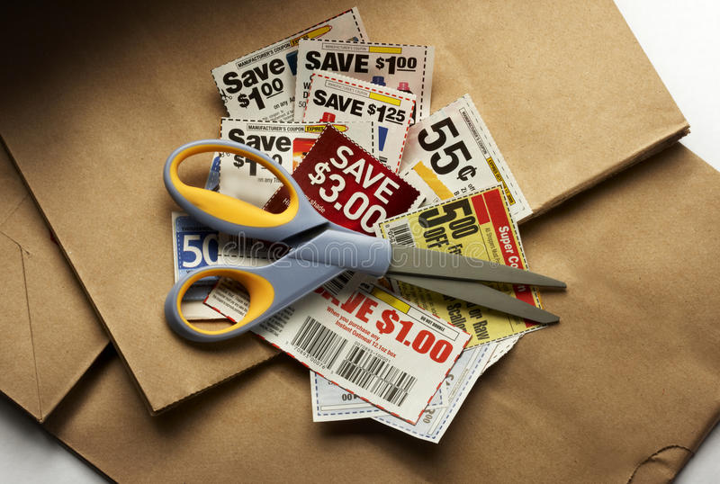Download Coupon savings stock photo. Image of sale, money, paper - 16893258