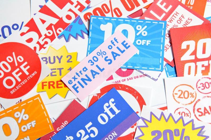 coupons royalty-vrije stock foto
