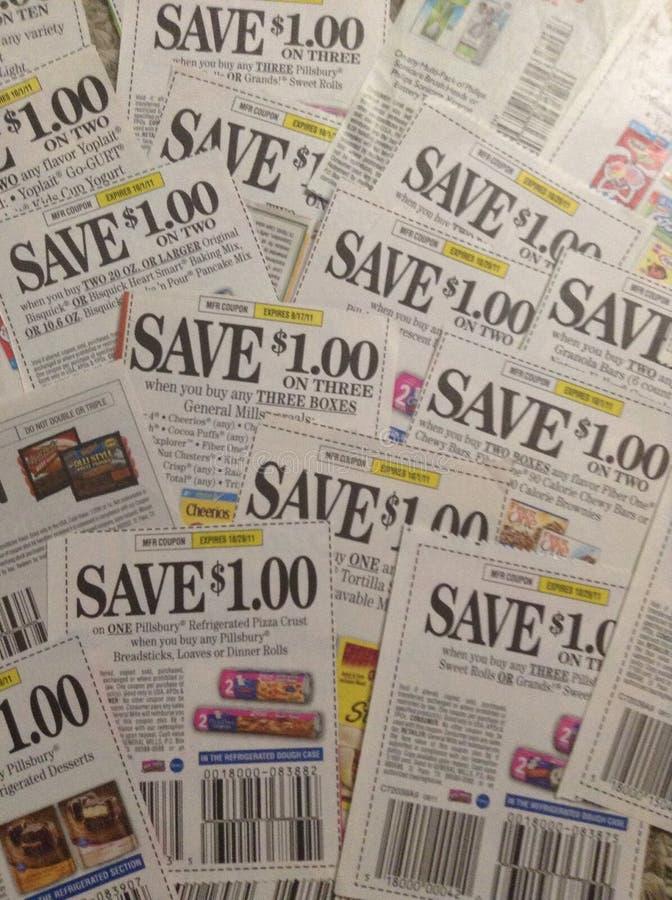 coupons imagens de stock royalty free