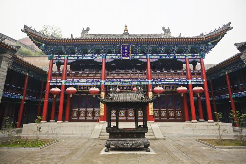 Cour chinoise de temple images stock