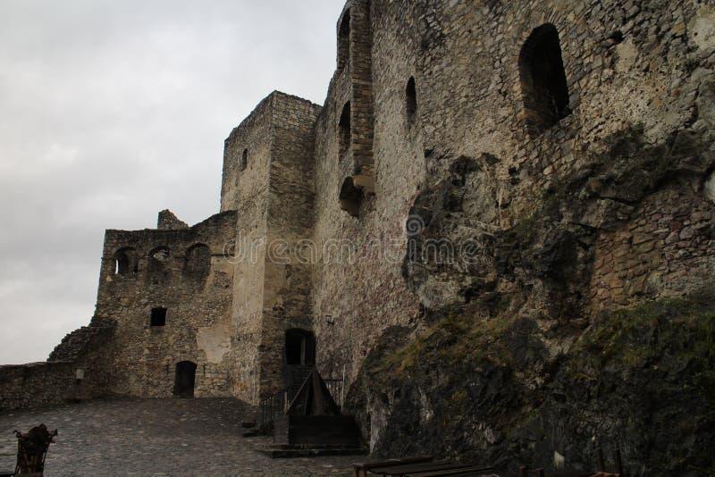 Cour de  de StreÄ aucun château dans la région d'ilina de ½ de Å photos libres de droits