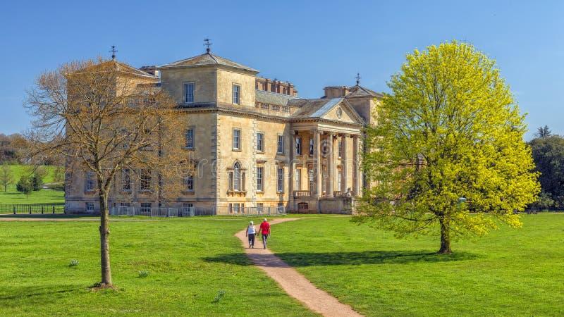 Cour de Croome, Worcestershire image libre de droits